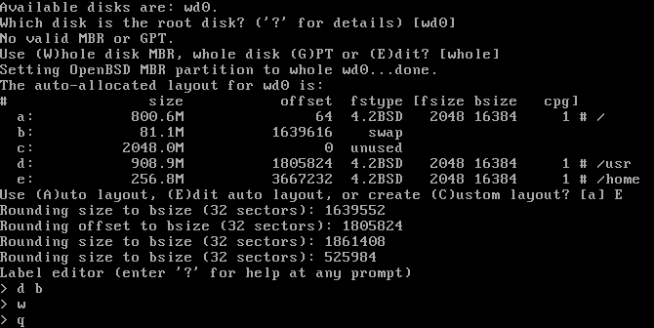 OpenBSD templates with complete firewall and Tor
